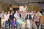 Pat McCarthy Fine Gaeil, wao was electede to the County Council on Sunday hosted to the air by his supporters.......