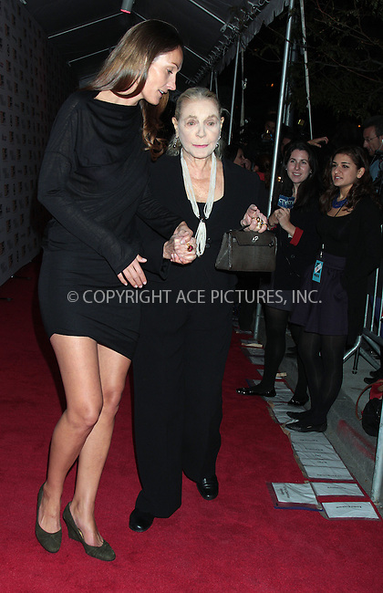 WWW.ACEPIXS.COM . . . . .  ....October 11 2009, New York City....Actress Lauren Bacall attends the premiere of ''Broken Embraces'' at Alice Tully Hall, Lincoln Center on October 11, 2009 in New York City.....Please byline: AJ Sokalner - ACEPIXS.COM.... *** ***..Ace Pictures, Inc:  ..(212) 243-8787 or (646) 769 0430..e-mail: picturedesk@acepixs.com..web: http://www.acepixs.com