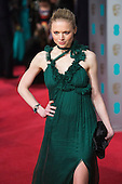 London, UK. 14 February 2016. Pictured: Katia Elizarova. Red carpet arrivals for the 69th EE British Academy Film Awards, BAFTAs, at the Royal Opera House. © Vibrant Pictures/Alamy Live News