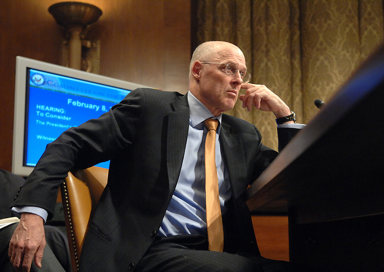 Secretary of the Treasury Henry Paulson testifies before the Senate Budget Committee on the President's FY2008 budget.