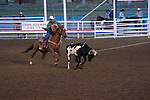 WY: Wyoming, Cody..Cody Night Rodeo..Photo #: yellow894..Photo copyright Lee Foster, 510/549-2202, lee@fostertravel.com, www.fostertravel.com..