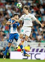 REAL MADRID v RCD ESPANYOL.LA LIGA 2017/2018. ROUND 7.