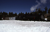 C&amp;TS rotary snowplow train at Cumbres powered by #488.<br /> C&amp;TS  Cumbres, CO