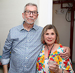 Sam Rudy and Sandi Durell during the Retirement Celebration for Sam Rudy at Rosie's Theater Kids on July 17, 2019 in New York City.
