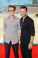 LONDON, ENGLAND - JULY 13: Tom Fletcher and Harry Judd attending the World Premiere of 'Dunkirk' at Odeon Cinema, Leicester Square on July 13, 2017 in London, England.<br /> CAP/MAR<br /> &copy;MAR/Capital Pictures /MediaPunch ***NORTH AND SOUTH AMERICAS ONLY***