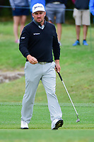 Graeme McDowell (NIR) departs 13 after sinking his putt  during round 3 of the Valero Texas Open, AT&amp;T Oaks Course, TPC San Antonio, San Antonio, Texas, USA. 4/22/2017.<br /> Picture: Golffile | Ken Murray<br /> <br /> <br /> All photo usage must carry mandatory copyright credit (&copy; Golffile | Ken Murray)