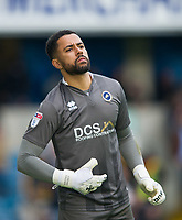 Millwall Jordan Archer during the Sky Bet Championship match between Millwall and Brentford at The Den, London, England on 10 March 2018. Photo by Andrew Aleksiejczuk / PRiME Media Images.