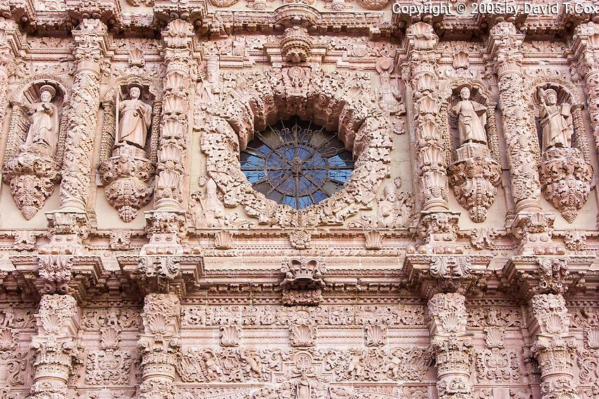 Zacatecas Catedral detail, Mexico