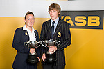 ASB Young Sportspersons of the Year, Analie Longo & Paul Snow-Hansen. ASB College Sport Young Sportperson of the Year Awards 2007 held at Eden Park on November 15th, 2007.