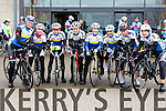 Pictured are theTralee CC  team who took part in the Lacey Cup Cycle on Sunday