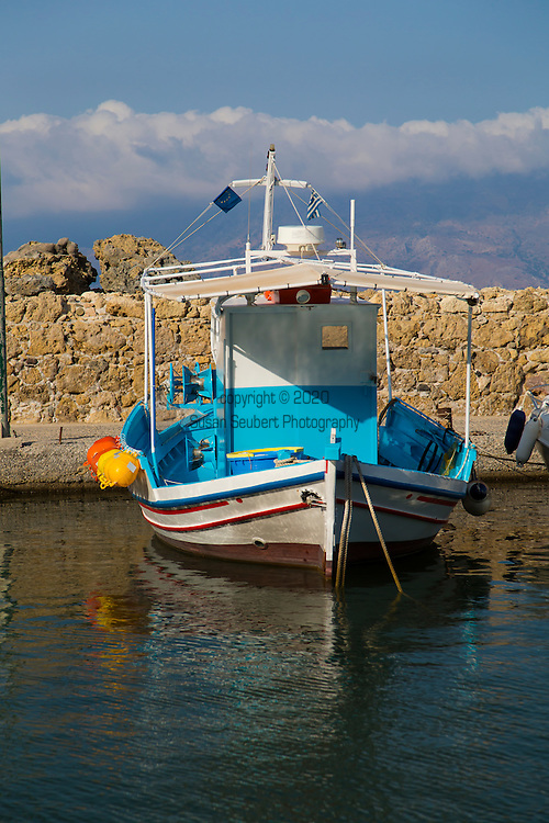 Gero Tsengas, a beautiful restaurant right on the water that serves fresh seafood. Kissamos, Crete, Greece, Europe