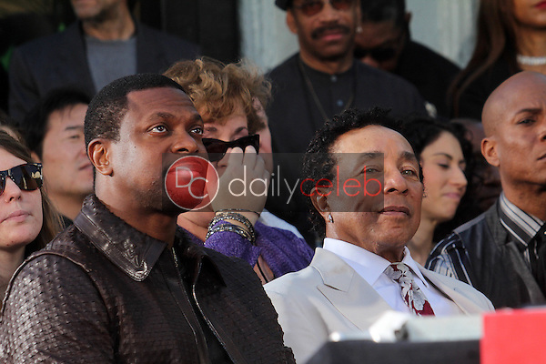 Chris Tucker, Smokey Robinson<br />