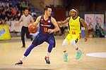 XXXVIII Lliga Nacional Catalana ACB 2017.<br /> FC Barcelona Lassa vs BC Morabanc Andorra: 89-70.<br /> Thomas Heurtel vs Andrew Albicy.