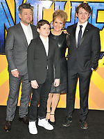 Andy Serkis and his family at the &quot;Black Panther&quot; European film premiere, Hammersmith Apollo (Eventim Apollo), Queen Caroline Street, London, England, UK, on Thu 08 February 2018.<br /> CAP/CAN<br /> &copy;CAN/Capital Pictures