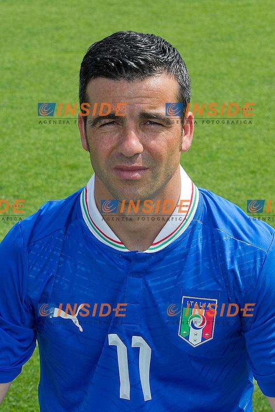 Antonio Di Natale..Firenze 30/05/2012 C.T. Coverciano..Football / Calcio EURO 2012..Foto Ufficiale Italia ..Foto Insidefoto Paolo Nucci..