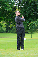 Stephen Healy (Carton House) on the 2nd during round 1 of The Mullingar Scratch Cup in Mullingar Golf Club on Sunday 3rd August 2014.<br /> Picture:  Thos Caffrey / www.golffile.ie