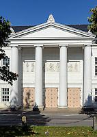 Theater in Putbus auf Rügen erbaut 19.Jh., Mecklenburg-Vorpommern, Deutschland