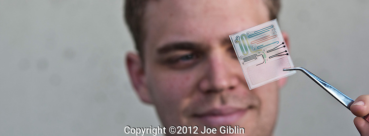 Lab on a Chip, shot in Kirk on Wednesday, March 14, 2012. (Photo/Joe Giblin)