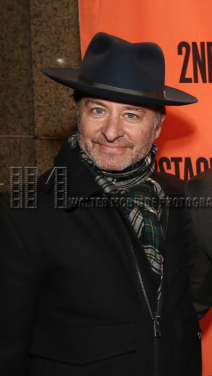 Fisher Stevens attends the Off-Broadway Opening Night performance of the Second Stage Production on 'Torch Song'  on October 19, 2017 at Tony Kiser Theater in New York City.
