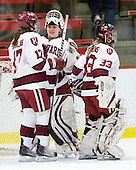 Kaitlin Spurling (Harvard - 17), Laura Bellamy (Harvard - 1), \h33\ - The Harvard University Crimson defeated the Northeastern University Huskies 1-0 to win the 2010 Beanpot on Tuesday, February 9, 2010, at the Bright Hockey Center in Cambridge, Massachusetts.