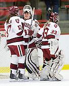 Kaitlin Spurling (Harvard - 17), Laura Bellamy (Harvard - 1), \h33\ - The Harvard University Crimson defeated the Northeastern University Huskies 1-0 to win the 2010 Beanpot on Tuesday, February 9, 2010, at the Bright Hockey Center in Cambridge, Massachusetts.