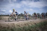 Later race winner Aimé De Gendt (BEL/Wanty Gobert) in the peloton on a gravel section<br /> <br /> Antwerp Port Epic 2019 <br /> One Day Race: Antwerp > Antwerp 187km<br /> <br /> ©kramon