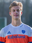 UTRECHT -  Justen Blok, speler Nederlands Hockey Team heren. COPYRIGHT KOEN SUYK