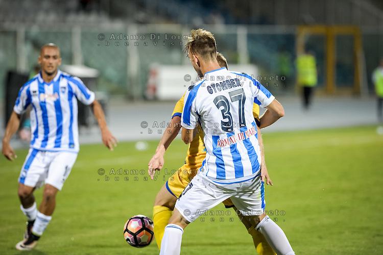 Gyomber Norbert (PESCARA) during the Italian Cup - TIM CUP -match between Pescara vs Frosinone, on August 13, 2016. Photo: Adamo Di Loreto/BuenaVista*photo