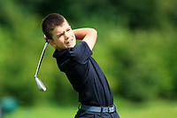Marc Clifford (Co.Sligo) on the 1st tee during the Connacht U12, U14, U16, U18 Close Finals 2019 in Mountbellew Golf Club, Mountbellew, Co. Galway on Monday 12th August 2019.<br /> <br /> Picture:  Thos Caffrey / www.golffile.ie<br /> <br /> All photos usage must carry mandatory copyright credit (© Golffile | Thos Caffrey)