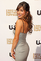 Sarah Shahi attends USA Network's 2012 Upfront Event at Lincoln Center's Alice Tully Hsll in New York, 17.05.2012.  Credit: Rolf Mueller/face to face /MediaPunch Inc. ***FOR USA ONLY***