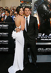 "HOLLYWOOD, CA. - August 06: Rachel Nichols and Channing Tatum arrive at a special screening of ""G.I. Joe: The Rise Of The Cobra"" on August 6, 2009 in Hollywood, California."