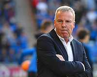 Portsmouth Manager Kenny Jackett during Portsmouth vs Birmingham City, Caraboa Cup Football at Fratton Park on 6th August 2019