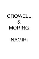 Crowell & Moring Namiri