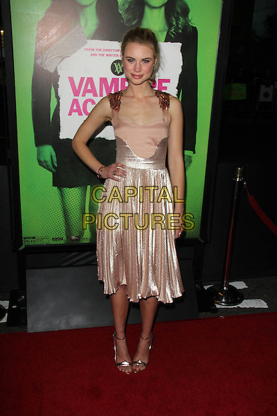 LOS ANGELES, CA - February 04: Lucy Fry at the &quot;Vampire Academy&quot; Los Angeles Premiere, Regal Cinemas, Los Angeles,  February 04, 2014. <br /> CAP/MPI/JO<br /> &copy;JO/MPI/Capital Pictures