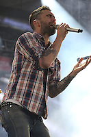 05/12/12 Carson, CA : Adam Levine and Maroon 5 perform during KISS FM's Wango Tango concert held at the Home Depot Center