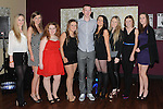 James Guinn celebrating his 18th birthday in the Star and Crescent with all the girls. Photo: Colin Bell/pressphotos.ie