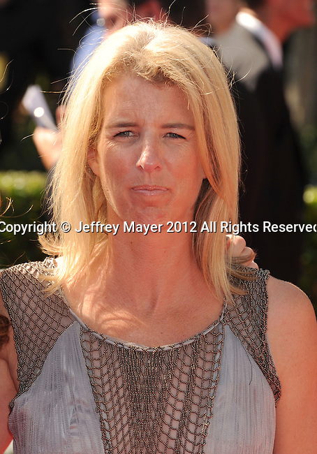 LOS ANGELES, CA - SEPTEMBER 15: Rory Kennedy. arrives at the 2012 Primetime Creative Arts Emmy Awards at Nokia Theatre L.A. Live on September 15, 2012 in Los Angeles, California.