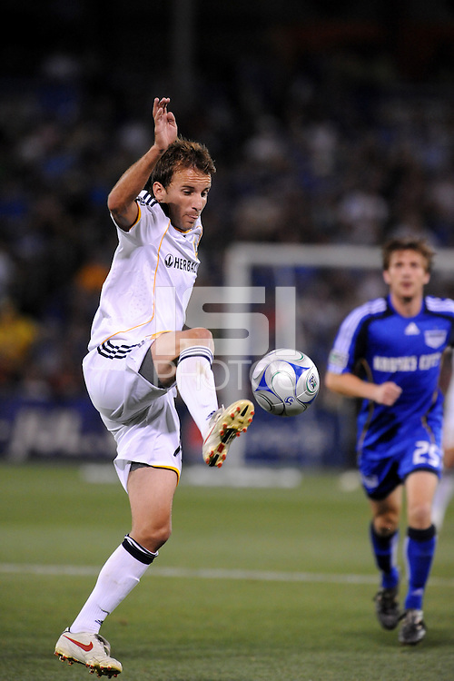 Mike Magee,.Kansas City Wizards tied 1-1 with LA Galaxy at Community America Ballpark, Kansas City, Kansas.