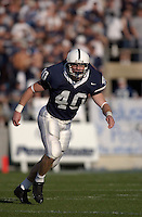 04 September 2004: Dan Connor, Penn State true freshman LB, recorded 5 tackles in his first college game.  Penn State defeated Akron 48-10 during their season opener 9-4-04 at Beaver Stadium in State College, PA....