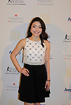 Maia Shibutani (skater) at 10th Annual Gala celebrating Figure Skating in Harlem's 18th year of operations at The Stars 2015 Benefit Gala on April 13, 2015 in New York City, New York honoring Olympic Champion Evan Lysacek, Gloria Steinem and Nicole. Alana and Juliette Feld with Mary Wilson as Mistress of Ceremony. (Photo by Sue Coflin/Max Photos)