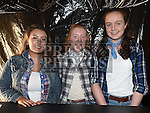 Niamh Dillon, Hannah Myles and Doireann Balfe at the Hoedown in Lobinstown held at Meade Potato Company. Photo:Colin Bell/pressphotos.ie