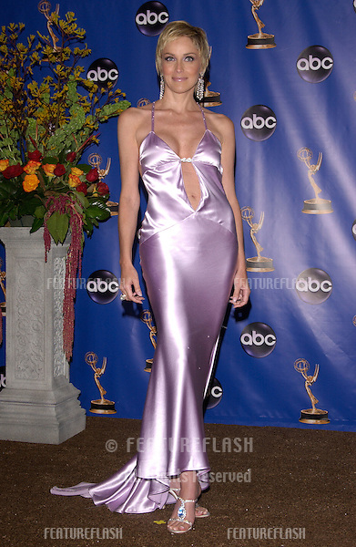 SHARON STONE at the 56th Annual primetime EMMY Awards at the Shrine Auditorium, Los Angeles..September 19, 2004