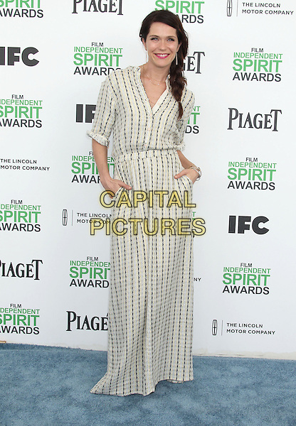 1 March 2014 - Santa Monica, California - Katie Aselton. 2014 Film Independent Spirit Awards held at Santa Monica Beach. <br /> CAP/ADM/RE<br /> &copy;Russ Elliot/AdMedia/Capital Pictures