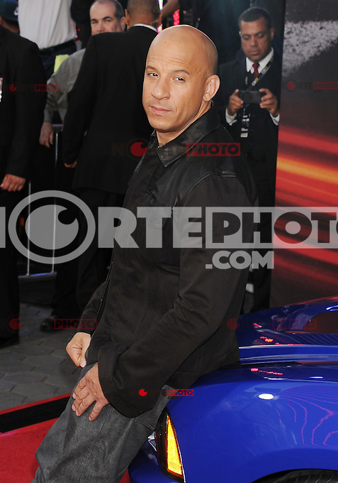 WWW.BLUESTAR-IMAGES.COM Actor Vin Diesel arrives at the 'Fast &amp; The Furious 6' - Los Angeles Premiere at Gibson Amphitheatre on May 21, 2013 in Universal City, California..Photo: BlueStar Images/OIC jbm1005  +44 (0)208 445 8588 /&copy;NortePhoto/nortephoto@gmail.com<br />