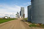 Grain elevators and storage tanks