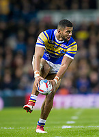 Picture by Allan McKenzie/SWpix.com - 08/02/2018 - Rugby League - Betfred Super League - Leeds Rhinos v Hull KR - Elland Road, Leeds, England - Kallum Watkins.