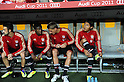 Takashi Usami (Bayern),..JULY 26, 2011 - Football / Soccer :..Takashi Usami (R) of Bayern Munchen sits on the bench before the Audi Cup 2011 match between FC Bayern Muenchen 1(5-3)1 AC Milan at Allianz Arena in Munich, Germany. (Photo by AFLO)
