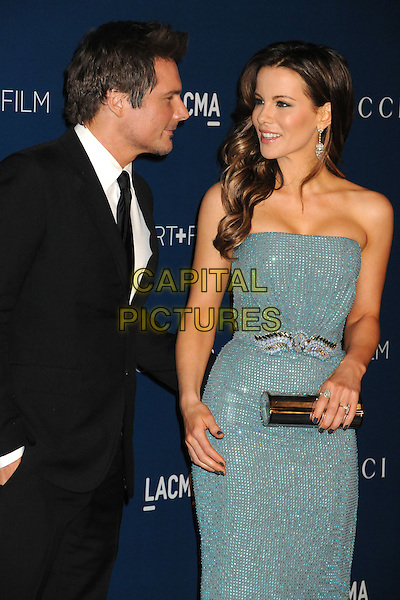 LOS ANGELES, CA - NOVEMBER 02: Len Wiseman, Kate Beckinsale at the LACMA 2013 Art + Film Gala held at LACMA on November 2nd, 2013 in Los Angeles, California, USA.<br /> CAP/ADM/BP<br /> &copy;Byron Purvis/AdMedia/Capital Pictures