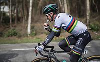 A snacking Peter Sagan (SVK/Bora-Hansgrohe)<br /> <br /> 105th Scheldeprijs 2017 (1.HC)<br /> 1 Day Race: Mol › Schoten (BEL/202km)