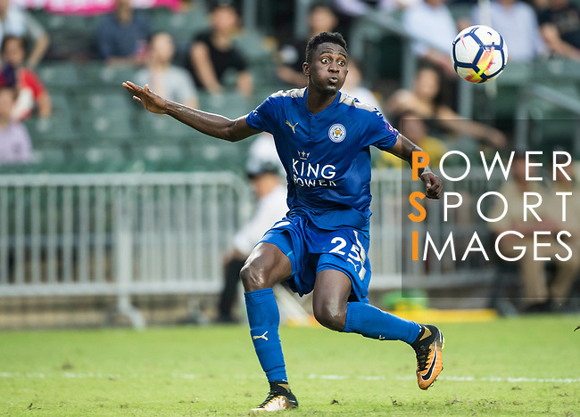 Leicester City FC midfielder Wilfred Ndidi in action during the Premier League Asia Trophy match between Leicester City FC and West Bromwich Albion at Hong Kong Stadium on 19 July 2017, in Hong Kong, China. Photo by Weixiang Lim / Power Sport Images